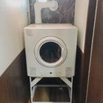 岐阜市衣類乾燥機の乾太くん取付け工事写真